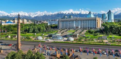 Летим в Алматы