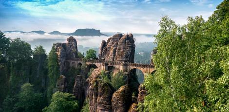 Автобусная экскурсия «Саксонская Швейцария» из Праги