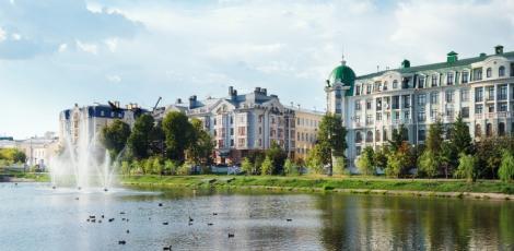 Казань в парках