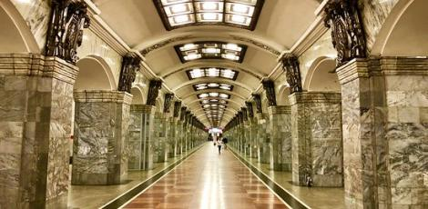 Подземные дворцы Петербурга