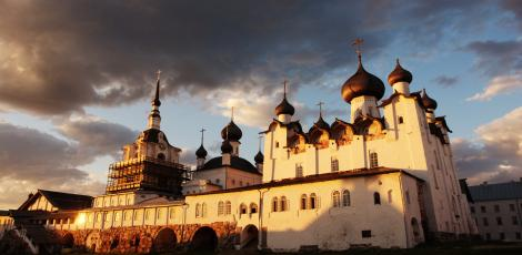 Спасо-Преображенский мужской монастырь на Соловецких островах