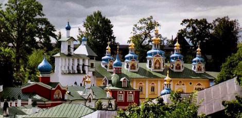 Экскурсия в Псково-Печерский монастырь