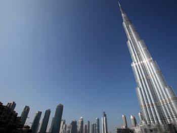 Главный небоскреб мира Burj Khalifa