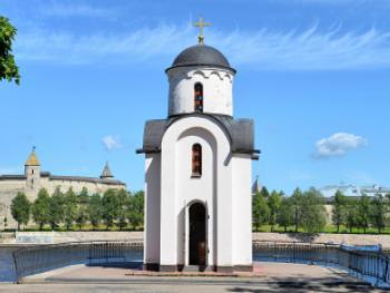 часовня в честь княгини Ольги, Псков