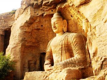 Буддийские пещеры. Гроты Юньган